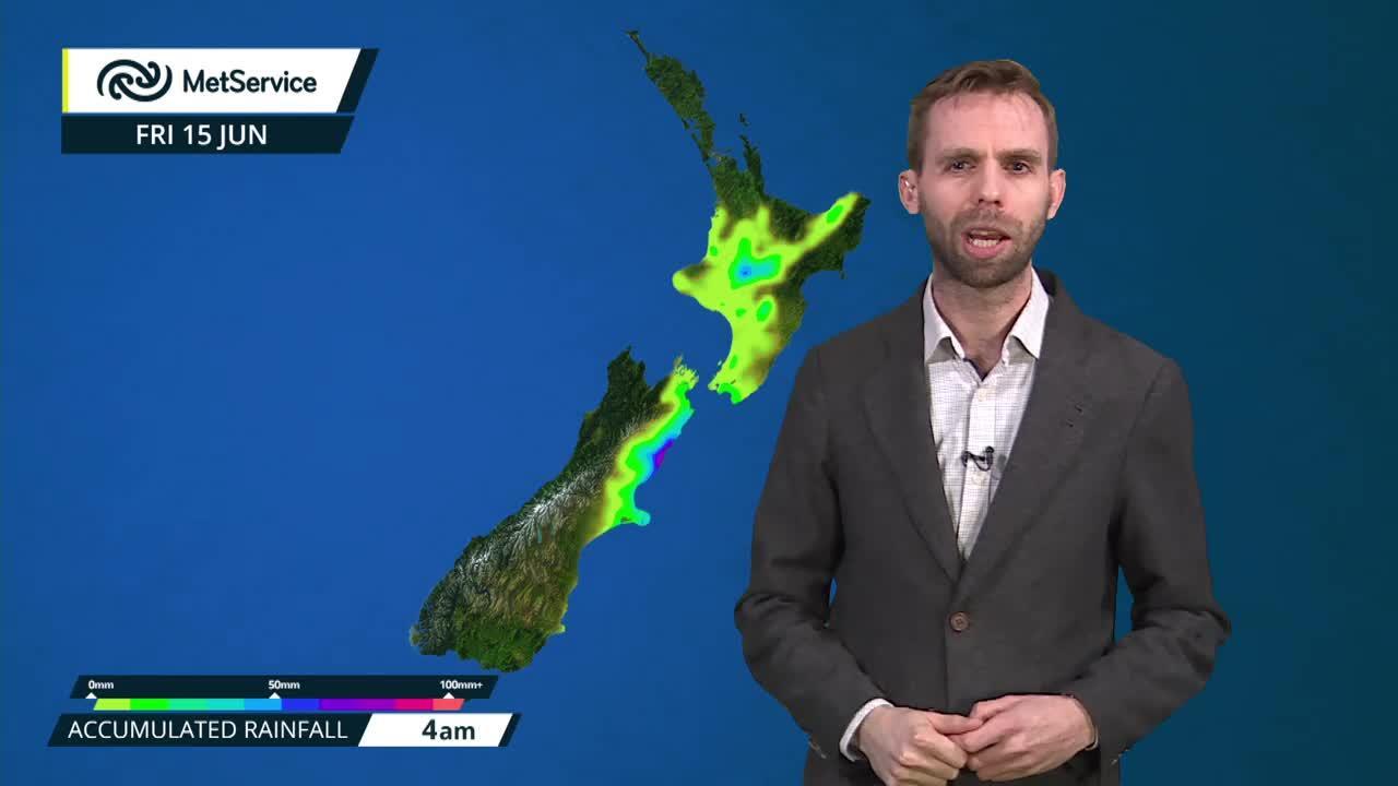 National forecast Auckland Wellington Manukau Weather