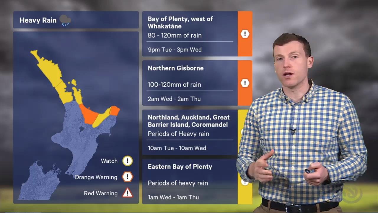 Napier Weather - NZ Weather Forecast from MetService com