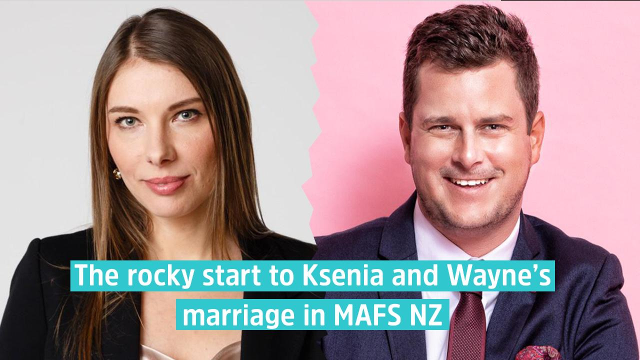The defining moments that sum up Wayne and Ksenia\'s rocky marriage ...